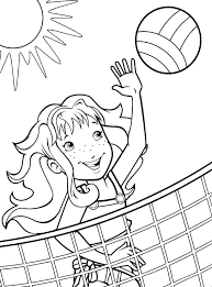 Printable Sports Coloring Pages Camelliacottageinfo