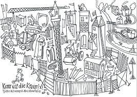 Kleurplaten Kraanwagens Online Beste Kleurplaat