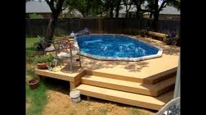 fanciful large above ground pool with deck clearance construction estimator gate fence idea floating diy coping
