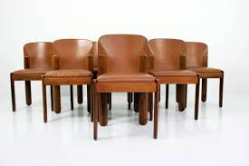 rustic leather dining chairs. Appealing How To Make Cozy Dining Room With Leather Chairs Modern Image For Concept And Blue Rustic N