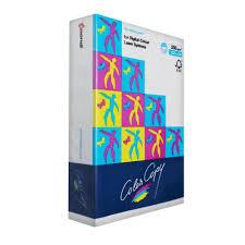 Colour Copy A4 Digital Paper 250gsm 125 Sheet Ream Officeworks Ream Colored Copy Paper L