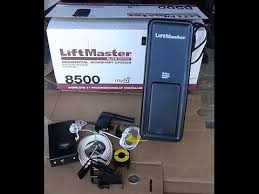 side mount garage door openerInstall LiftMaster 8500 Jackshaft Garage Door Opener  YouTube