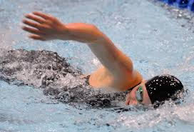 Image result for a girl swimming freestyle