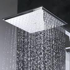 grohe euphoria cube square rain shower head chrome new stick wall mounted smartcontrol 310 dual system sh