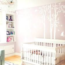 baby room murals five huge white tree wall decal vinyl stickers birds decals baby nursery bedroom baby room murals