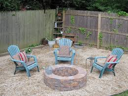 ... Using Cinder Blocks For Fire Pit Unique In Ground Fire Pit Risks And  Tips ...