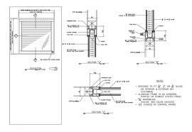 glass door system door details pdf free kitchen cabinets plans how to build