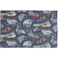 kids carpet rug disney cars carpet rug street play carpet rug color grey