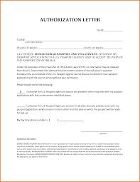 Authorization Letter Behalf Authorization Letter Pdf