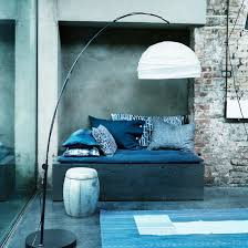 Industrial chic furniture ideas Bathroom Modern Blue And White Living Room With Exposed Brick And Concrete Walls Industrial Chic Design Javi333com Industrial Chic Design Room Ideas Ideal Home