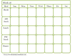 monthly meal planner template best 25 meal planning templates ideas on pinterest menu