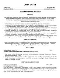Click Here to Download this Assistant Brand Manager Resume Template!  http://www