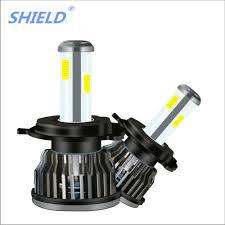 Light Bulb Shield Us 31 7 30 Off Shield Car Accessories Car S10 Four Side Led Headlights Super Bright Far And Near Light Bulb H7 H1 H4 H11 9005 6000k 8000lm In Car