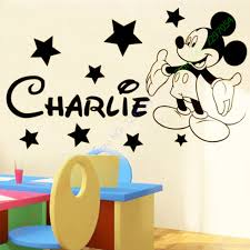 mickey mouse wall art stickers