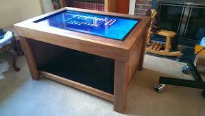 Interactive Coffee Table Multi Touch Gaming Coffee Table And Magnetic Interactive Objects
