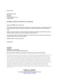 carta de negocios carta de cobro para solicitar contacto y propuesta modelos y