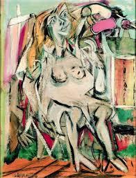 painting from de kooning s women series