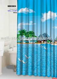 novelty fabric shower curtains suppliers manufacturers