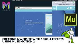 Creating a Website with Scroll Effects using Muse Motion 2 | GSAP ...