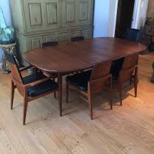 midcentury modern walnut dining set at stdibs