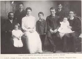 Joseph Truman Sharp and Margaret Elsie Lamb family. L to R: Joseph Truman  Sharp, Elizabeth Sharp Gregory, Clarence Joh… | My family history, Free  family tree, Elmer