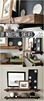Industrial Bookcase Diy Diy Industrial Shelves The 36th Avenue