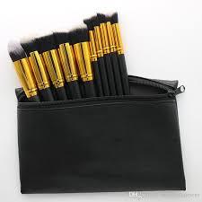 professional makeup brushes makeup brush set leather pouch dhl 10 pieces makeup brush set makeup brushes powder brush with 6 18 set on
