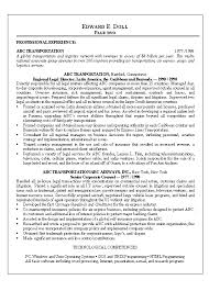 Attorney Resume Templates Lawyer Resume Example Free