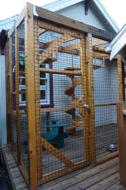 Cordelia and Willow's enclosed outdoor playground is one of nine catios on  the 3rd Annual Catio