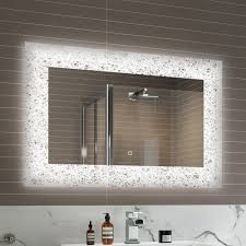 Illuminated Bathroom Mirrors With Bluetooth