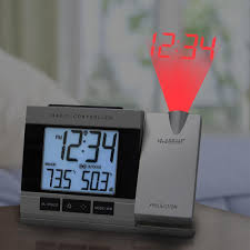uncategorized alarm clock projects time on ceiling incredible la crosse technology projection gray digital alarm clock