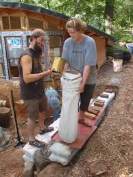 brainright root cellar retaining wall filling earthbags natural building extravaganza lily ann foutslily fouts