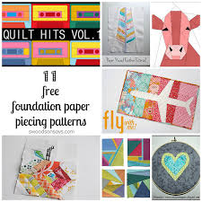 Free Paper Pieced Patterns Of Animals