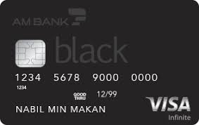 Visa Black Am Bank