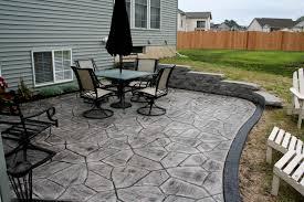 Stamped Concrete Patio Decorative Concrete Patio