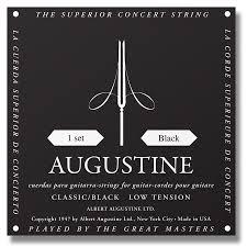 Augustine Classic Black Mt Lt Classical Guitar Strings Full Set