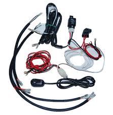 universal headlight halo angel eye drl led lights lamp wiring wiring harness switch kit main image
