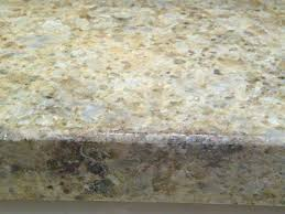 green bloom stain on granite countertop