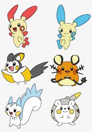 Minun Evolution Chart Dedenne Pokemon Evolution Eden Frais