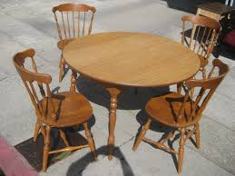 wood kitchen table chairs throughout decorative round tables 9 logicboxdesign remodel 14