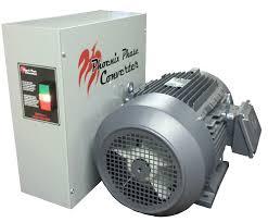 40 hp rotary phase converter precision balanced pc40plv phoenix phase converter