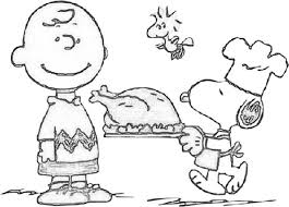 Small Picture Best A Charlie Brown Thanksgiving Coloring Pages Free 5358
