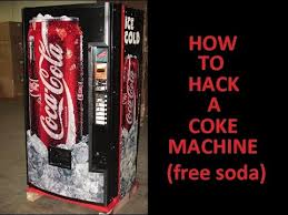 How To Hack Into A Vending Machine Adorable HOW TO HACK A COKE MACHINE FOR FREE SODA YouTube