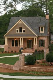 arts crafts style home with inviting covered front porch