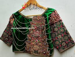 Maliboo Designs Mind Blowing Maggam Work Blouses Designs By Maliboo