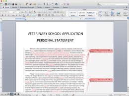school personal statement sample