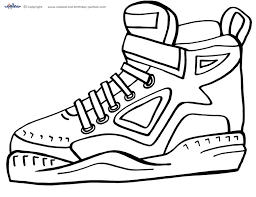 Small Picture Printable Basketball Coloring Page 5