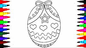 Coloring Pages Easter Egg Surprise Coloring Book Videos For