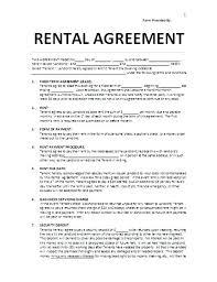 Venue Contract Template Venue Rental Contract Template Free