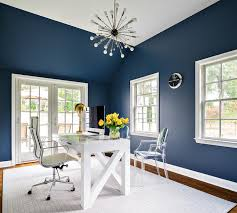 Blue office paint colors Productive Office Navy Office Ideas Decorpad Navy Office Ideas Contemporary Denlibraryoffice Benjamin